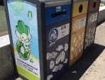 创意广告分类钢制垃圾箱