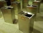 天虹商场不锈钢垃圾桶图