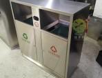 户外市政街道分类不锈钢垃圾箱