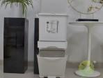 家用日式带滑轮分类塑料垃圾桶