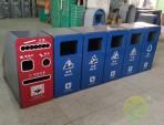 深圳玻金塑纸分类回收箱定制