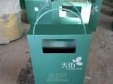 深圳天街购物街区定制手提袋钢制垃圾桶