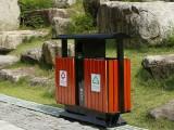 重庆涪陵区园林采购钢木垃圾桶