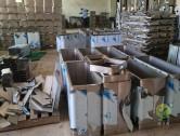 不锈钢果皮箱工厂生产实景