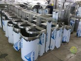 不锈钢垃圾桶工厂生产实景图