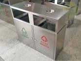 常用户外物业分类不锈钢垃圾箱