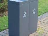 室内冷轧钢分类垃圾桶