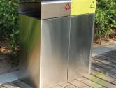 市政街道不锈钢分类垃圾箱