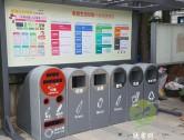 事业单位户外大型钢制分类垃圾箱