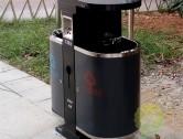 公园冷板喷塑环保分类垃圾桶