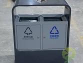 户外喷塑不锈钢分类垃圾桶