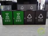 组合式直投口304不锈钢分类垃圾桶