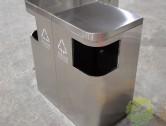 环卫组合式不锈钢分类垃圾桶