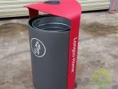 精品户外环保不锈钢垃圾桶
