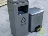室内喷塑不锈钢分类垃圾桶定制