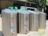 户外地埋式不锈钢分类垃圾桶