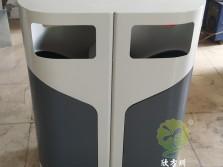 室外侧开门钢制分类垃圾桶