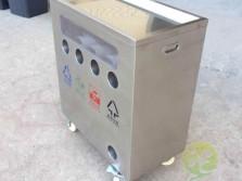 幼儿园训练分类不锈钢垃圾桶
