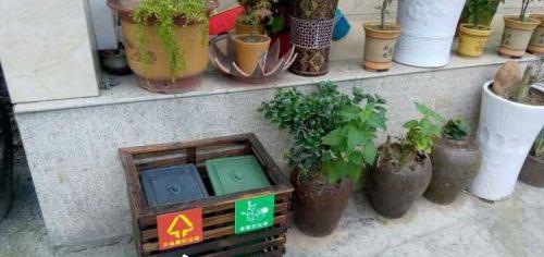 创意小木屋垃圾桶防臭在乡镇应用