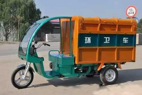 三亚采用电动三轮车收集垃圾取消街道垃圾桶投放