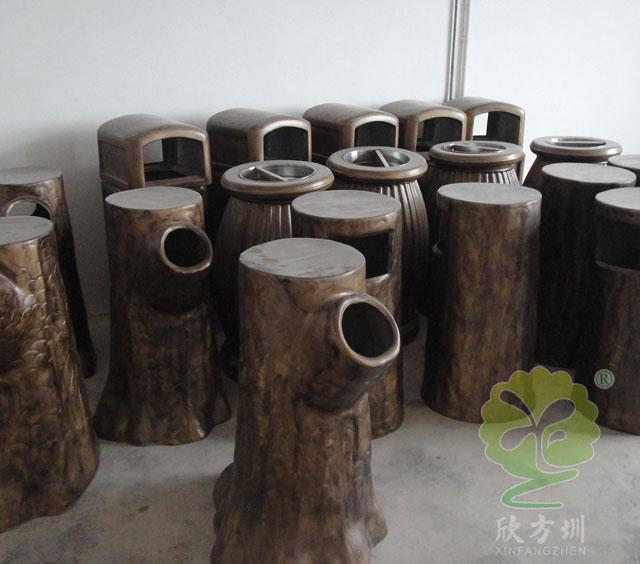 浙江金华农村玻璃钢垃圾桶美观有特点上央视