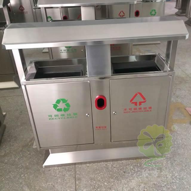 户外物业分类不锈钢垃圾箱