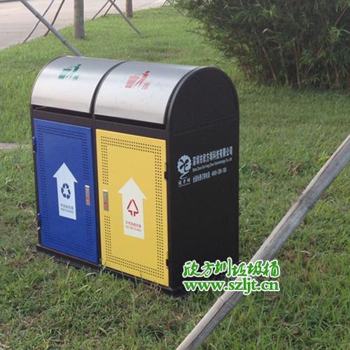 深圳钢板冲孔垃圾桶火热销售中