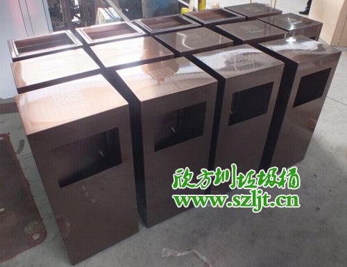 华润银湖蓝山采购欣方圳高档不锈钢垃圾桶