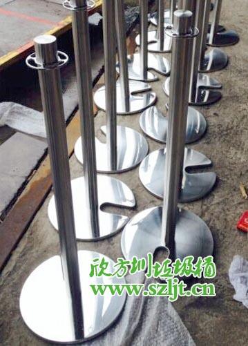 深圳市银湖旅游中心采购欣方圳栏杆隔离柱