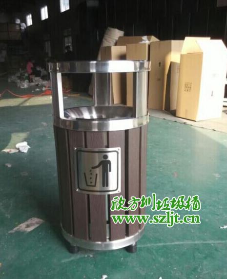 欣方圳钢木垃圾桶正在火爆热销中