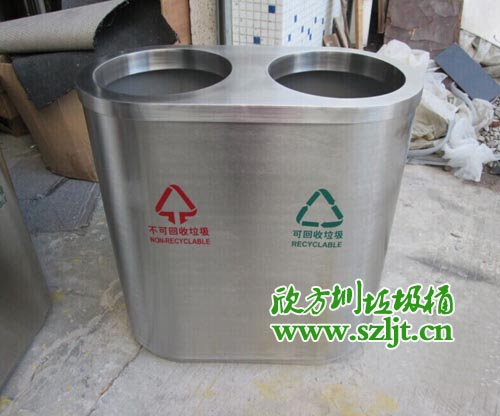 湖南张家界采购欣方圳不锈钢垃圾桶