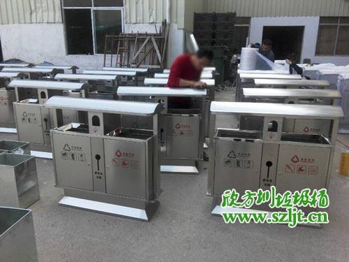 深圳华侨中学采购不锈钢垃圾桶