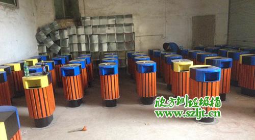 如何规范化设置城区街道垃圾桶