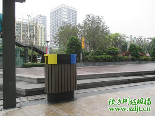 深圳房地产用什么垃圾桶?