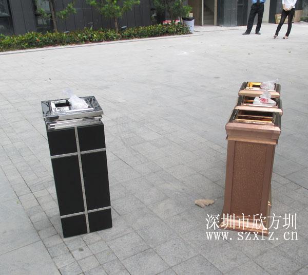 欣方圳为深圳岭南天润物业提供室内垃圾桶