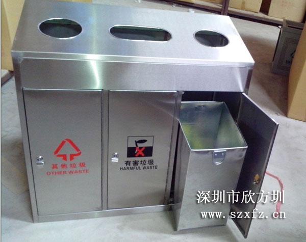 深圳供电局订购多款垃圾桶以及园林椅和展示牌