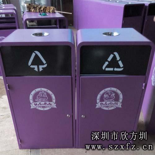 欣方圳环保分类垃圾桶绿化天津滨海新区