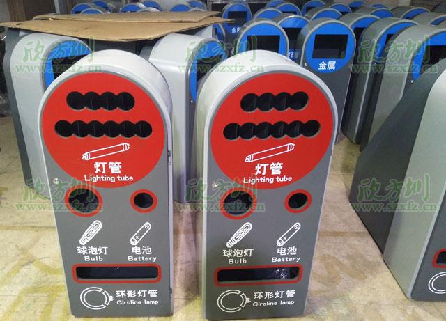 深圳市政玻金塑纸分类资源回收箱卖疯啦