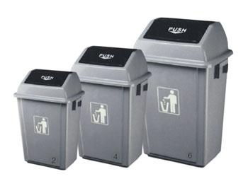 58L塑料垃圾桶