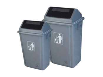 40L摇盖垃圾桶