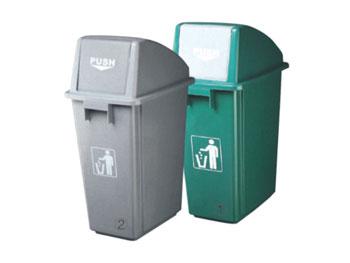 58升推盖垃圾桶