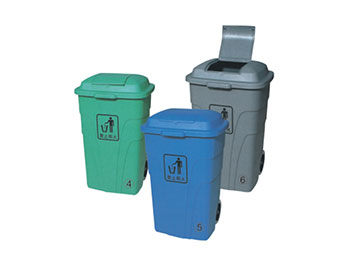 240L环卫塑料垃圾桶
