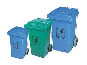 侧边脚踏塑料垃圾桶