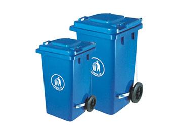 100L脚踏塑料垃圾桶
