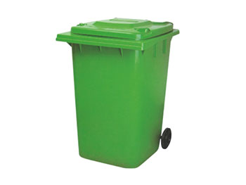 360L环保塑料垃圾桶