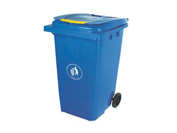 240L新料垃圾桶带轮子