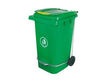 240L脚踏环保垃圾桶