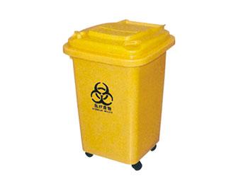 50升医疗垃圾桶带轮子