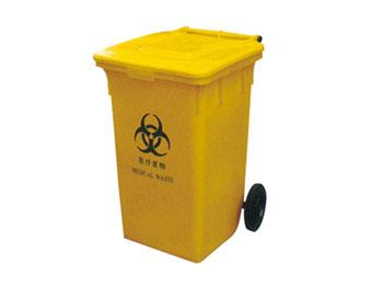 100L医疗垃圾桶带轮子
