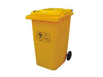 240L医疗垃圾桶带轮子